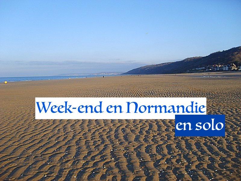 Week-end en Normandie en Solo