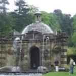 Une des fontaines du parc