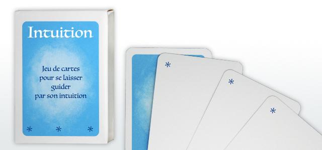 jeu de cartes intuition