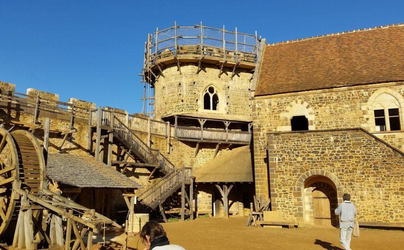 Le château de Guédelon, en Bourgogne