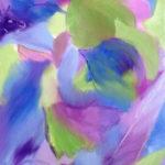 peinture intuitive - la toile se dévoile