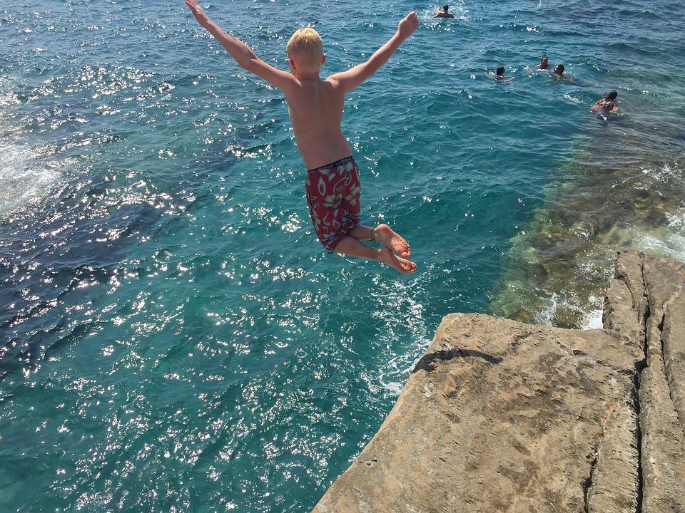 peur saut falaise